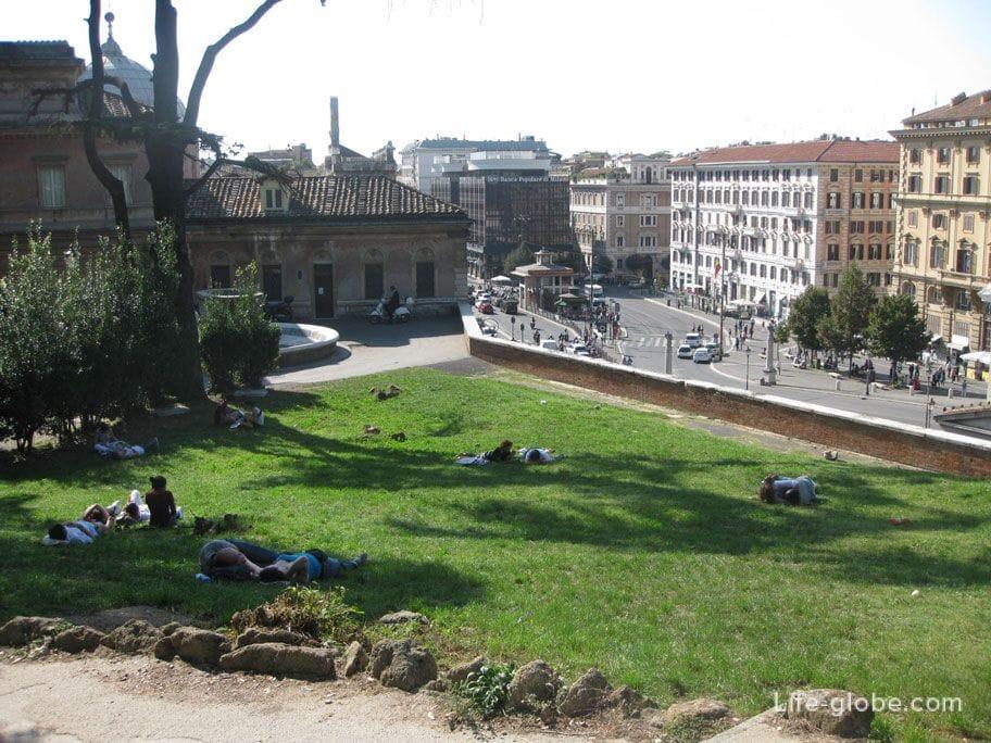 сиеста в Риме