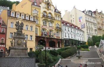 Карловы Вары - прогулка: улицы, фото, достопримечательности