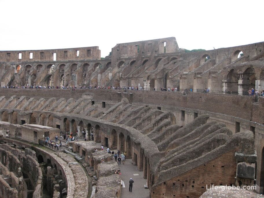 gladiator fights - colosseum