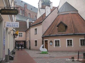 Уютные дворики старой Риги - Конвента и Яна сета