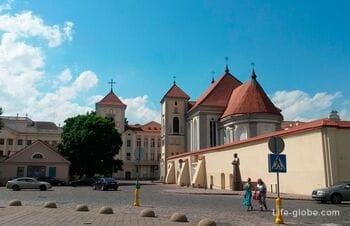 Костел Святого Георгия и монастырь Бернардинцев, Каунас