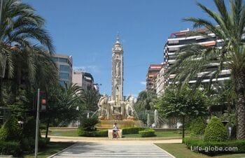 Красивейшая улица Аликанте, состоящая из трех проспектов