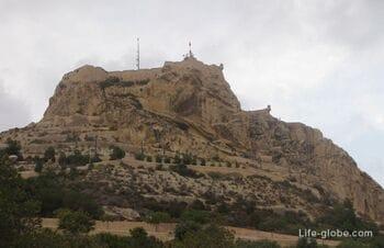 Крепость Санта-Барбара в Аликанте, Испания