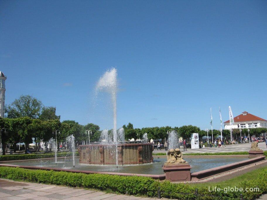 sopot fountain