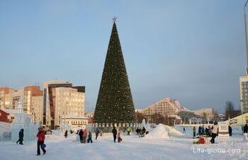 Пермский ледовый городок