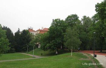 Летенские сады в Праге, Чехия (Letenske Sady)