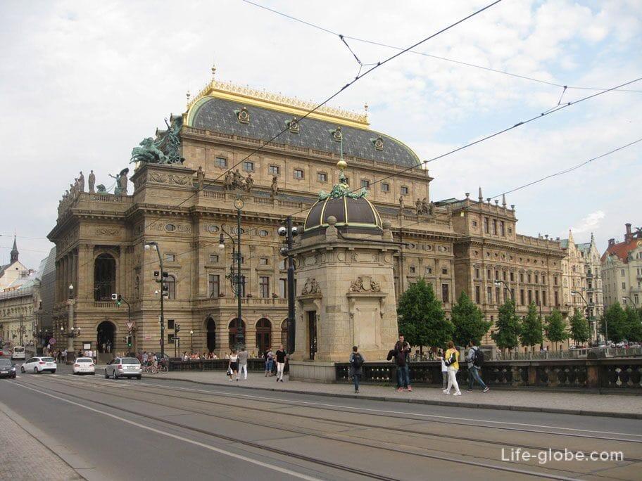 Достопримечательности Праги - Национальный пражский театр