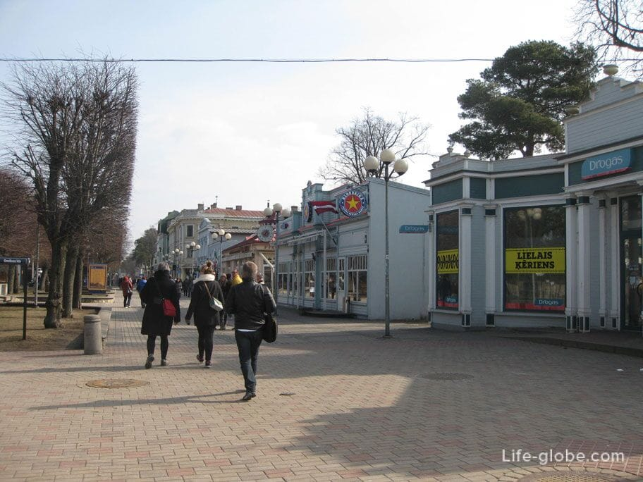 Один день в Юрмале, Майори: улица Йомас, зал Дзинтари ... Юрмала Зимой