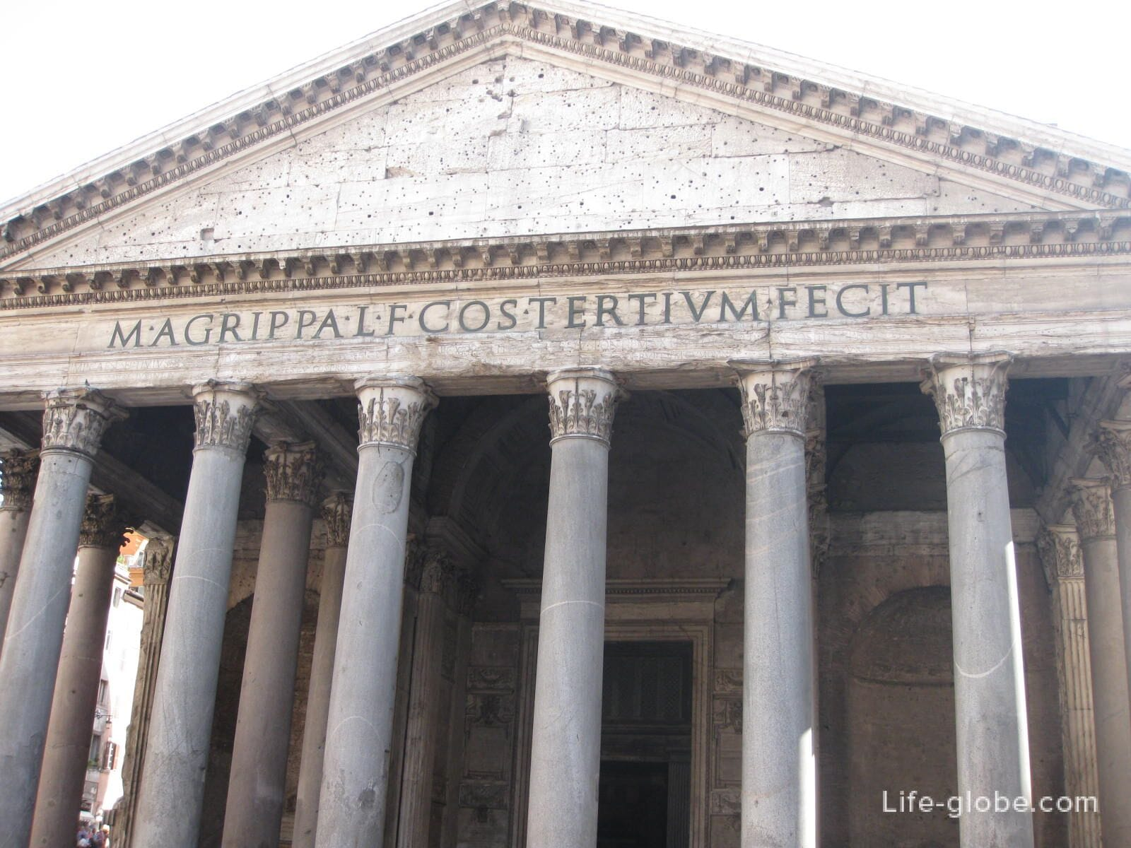 Temple of All Gods in Rome