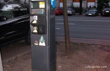 Парковки в Варшаве