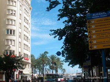 Парковки в Аликанте