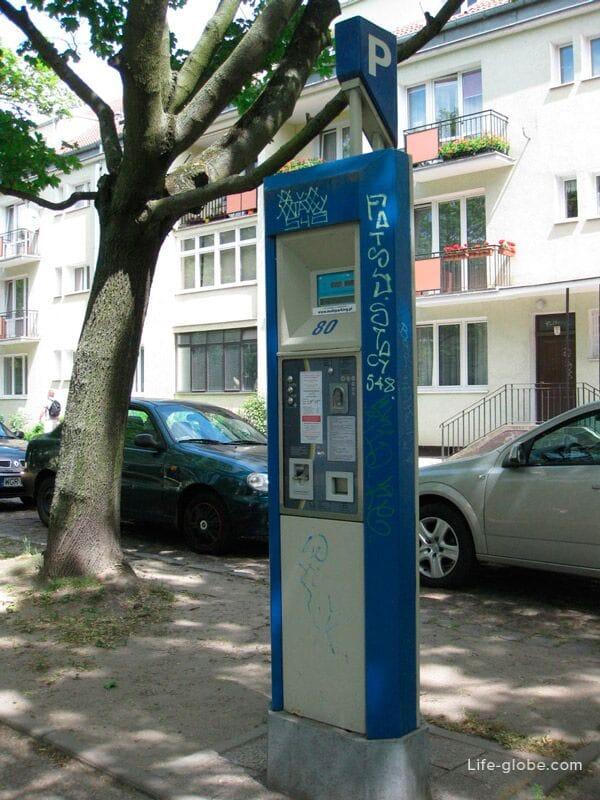parking meter in Gdansk