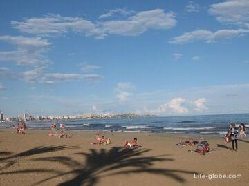 Пляжи города Аликанте, Испания
