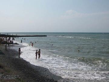 Пляжи центра Сочи. Лучший пляж Сочи