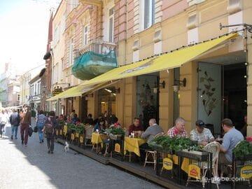Где вкусно и недорого поесть в центре Вильнюса