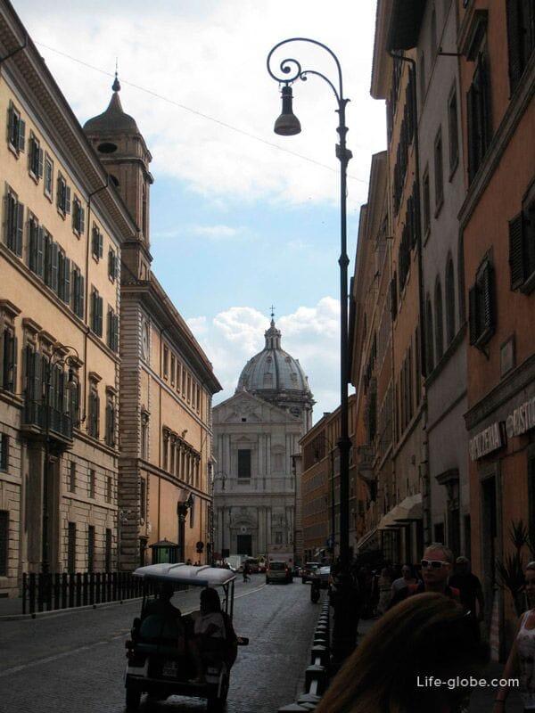 самый старый квартал Рима - Трастевере