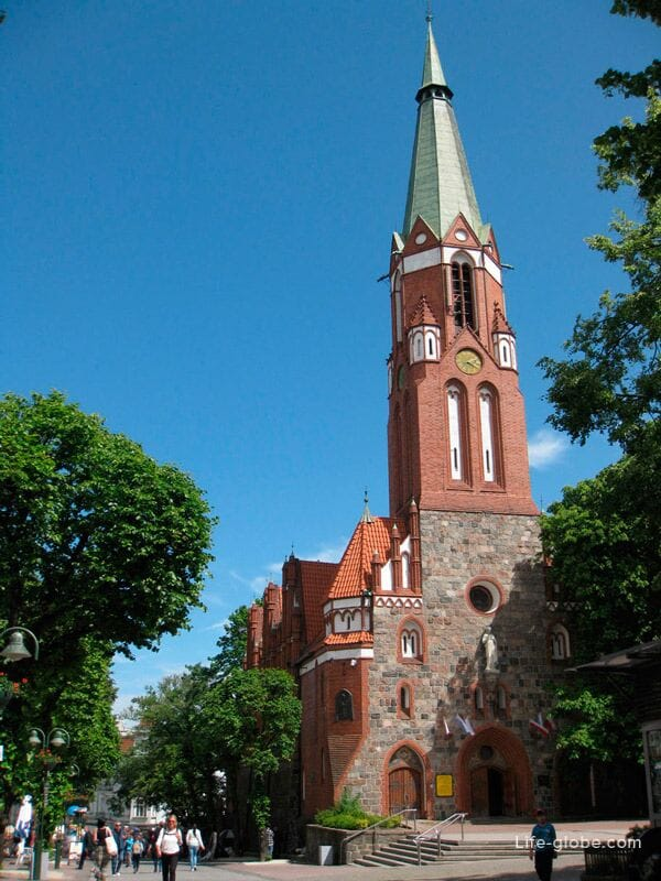 sights of Sopot - St. George's Church