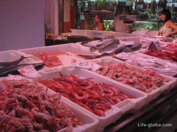 Центральный рынок (Mercado Central) Аликанте