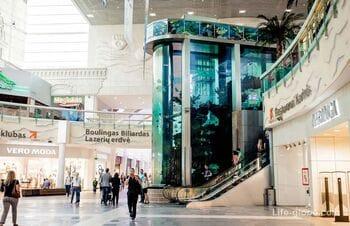 Шоппинг в Каунасе. Торговые центры и супермаркеты Каунаса