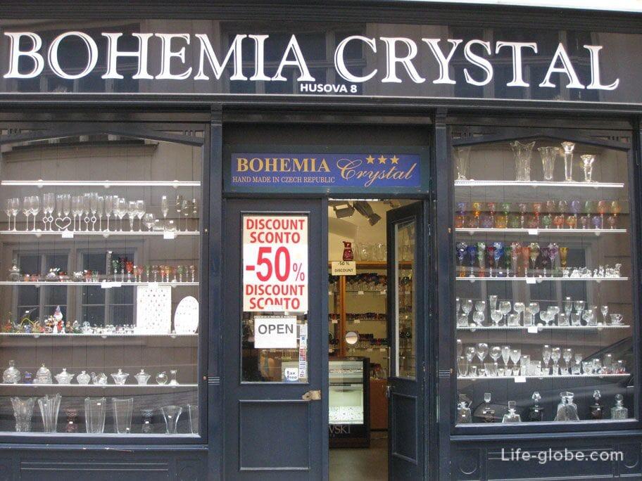 чешская Богемия - стекло и хрусталь