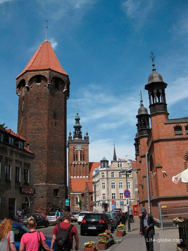 fortification tower-Baszta Jacek Gdansk
