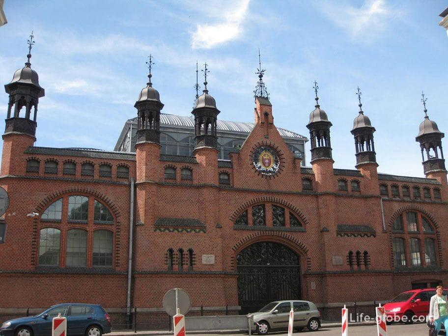 covered market of Dominican merchants Gdansk