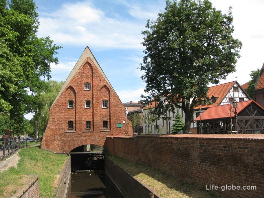 Small mill Gdansk