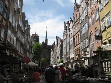 Старый город Гданьск, Польша. Достопримечательности Гданьска