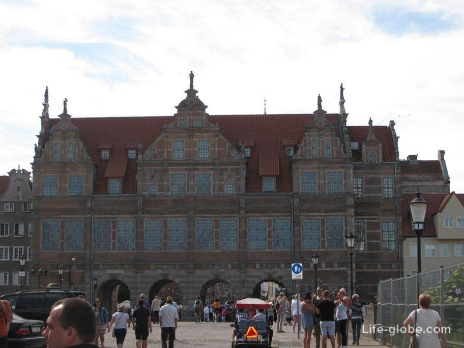 Green Water Gate Gdansk