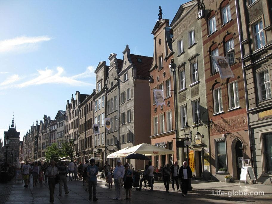 Dluga street Gdansk
