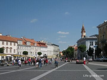 Старый город Вильнюса - прогулка: улицы, площади, храмы