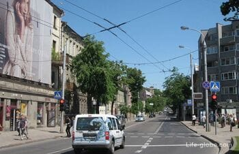 Улицы Каунаса + фотоотчет