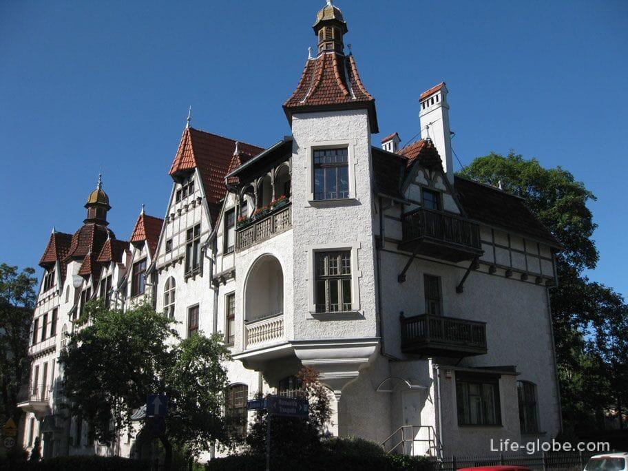 buildings of Sopot