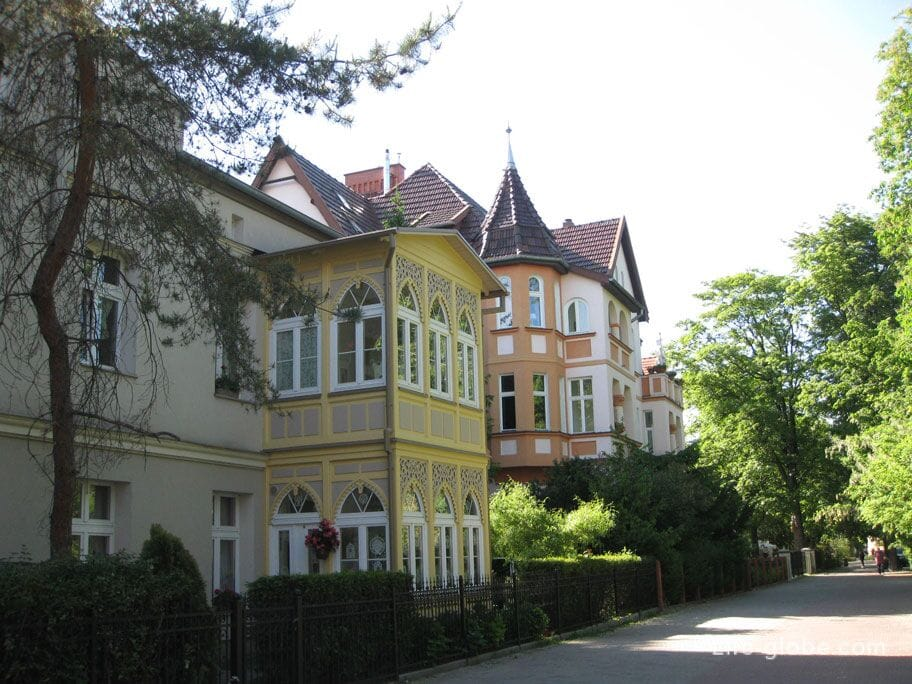 architecture of Sopot photo