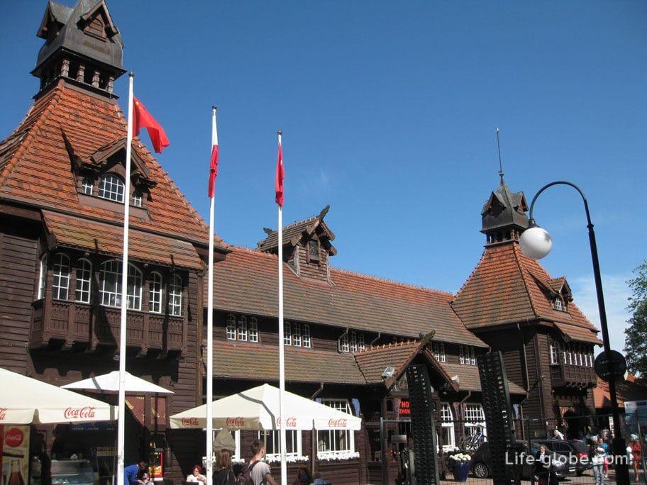 buildings of Sopot photo