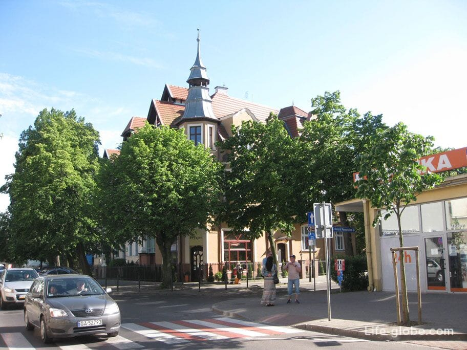 sights of Sopot-a walk through the streets