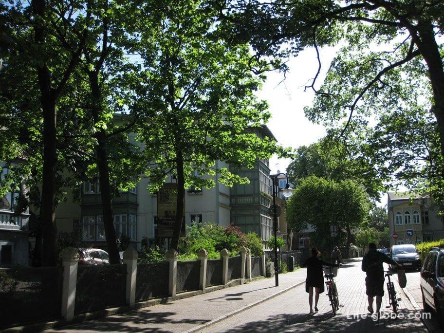walking along Sopot photo