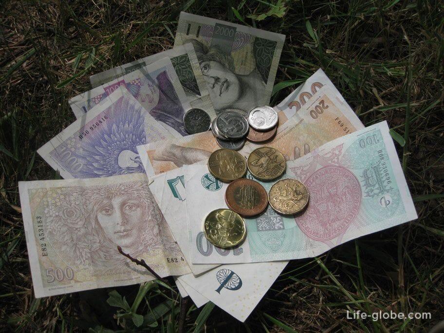 Чешские кроны - валюта Чехии