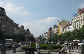 Вацлавская площадь в Праге - самая большая площадь мира