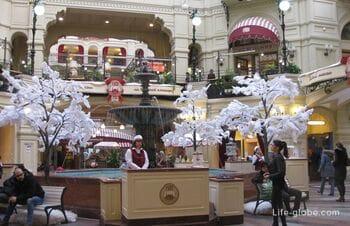 Верхние торговые ряды в Москве - ГУМ, улица Никольская (Никольские/Иверские торговые ряды)