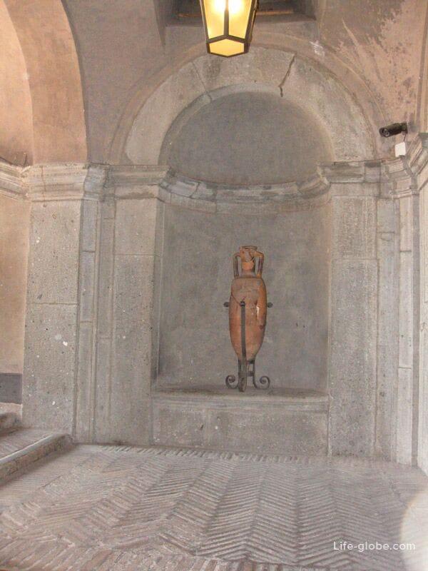 архитектура замка Сант-Анджело в Риме