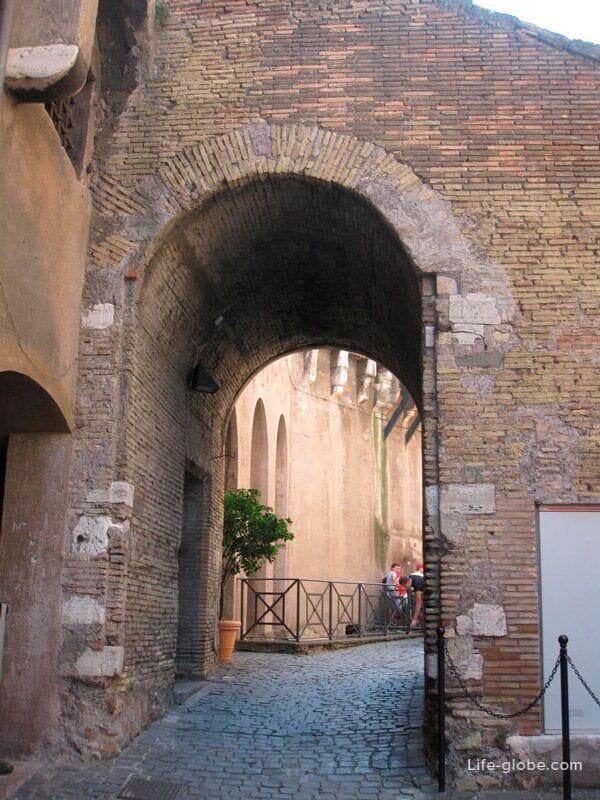 в замке Святого Ангела, Рим, Италия