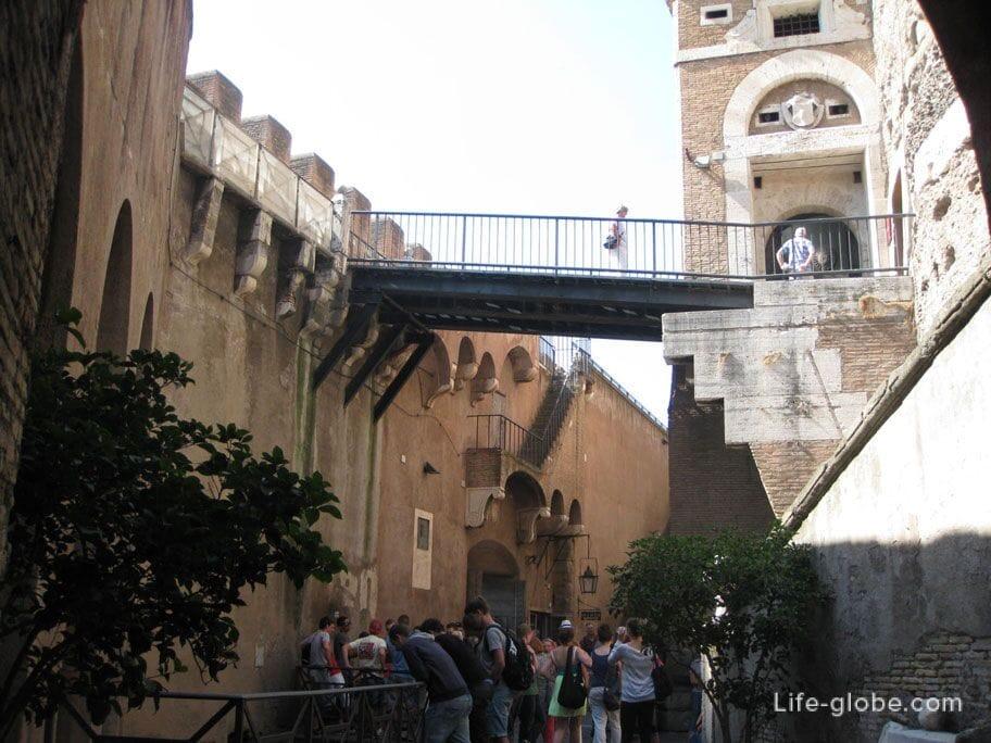 замок Сант-Анджело в Риме