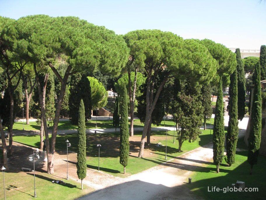 парк Адриана в Риме