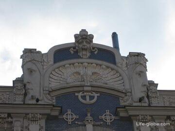Что непременно нужно увидеть в Риге! Жемчужина югендстиля - улицы в стиле модерн: Альберта и Элизабетес