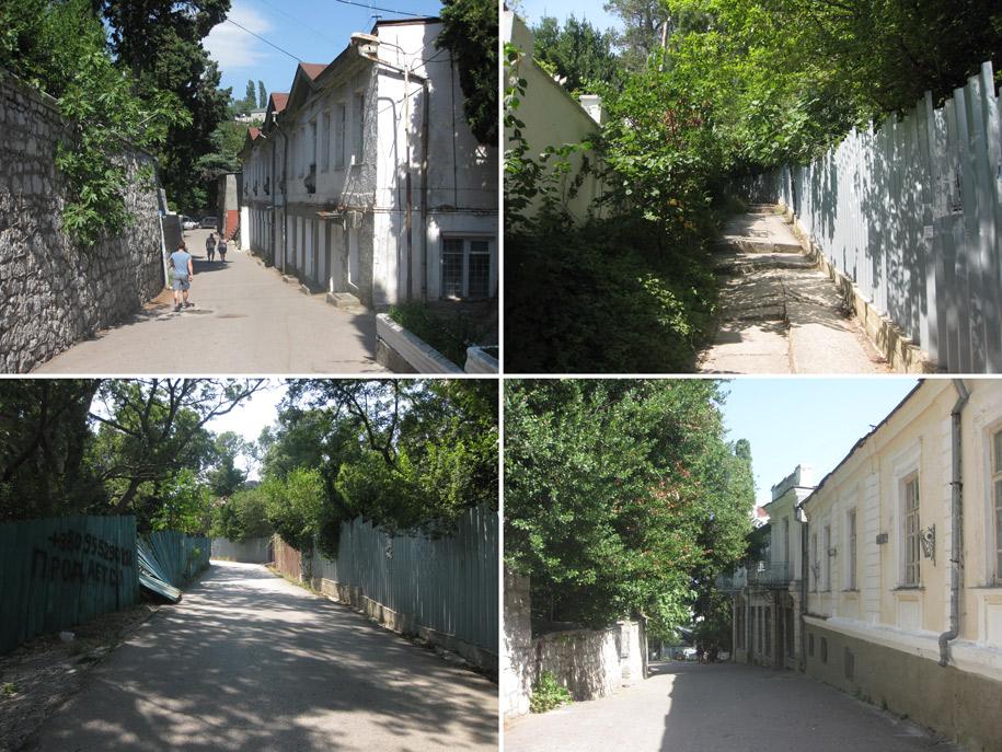 Улицы в Алупке