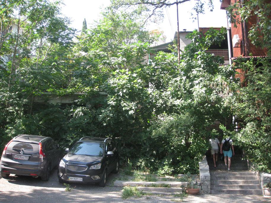 Улицы в Алупке, Крым