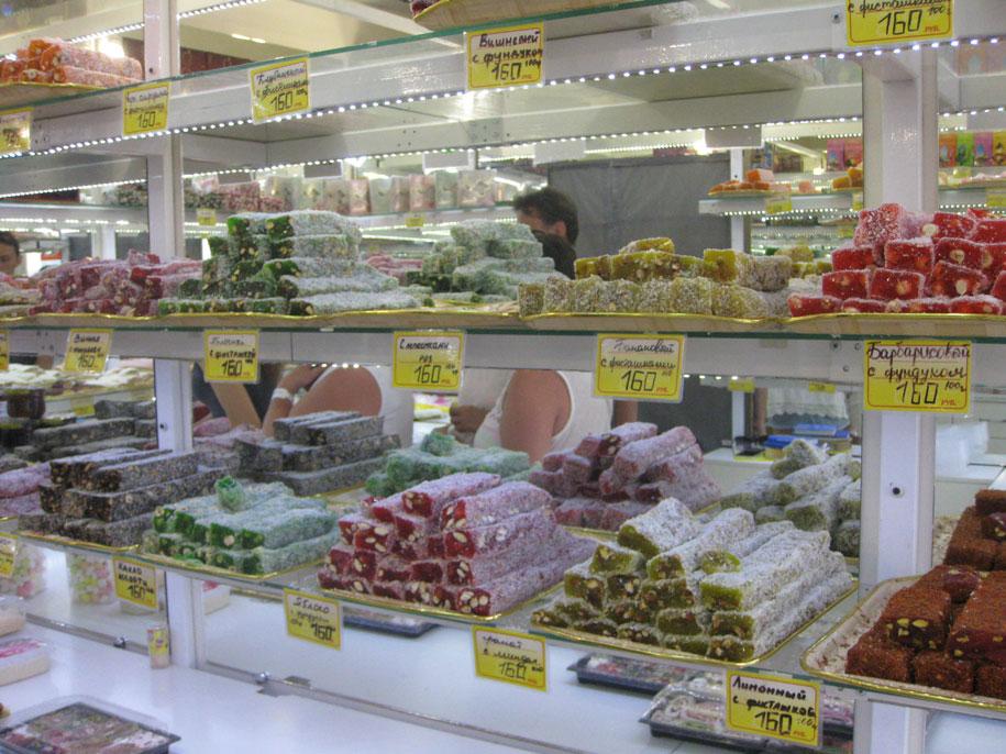 Цены в Крыму, рахат-лукум