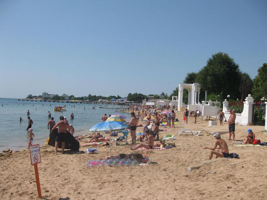 Пляжи Евпатории, Крым