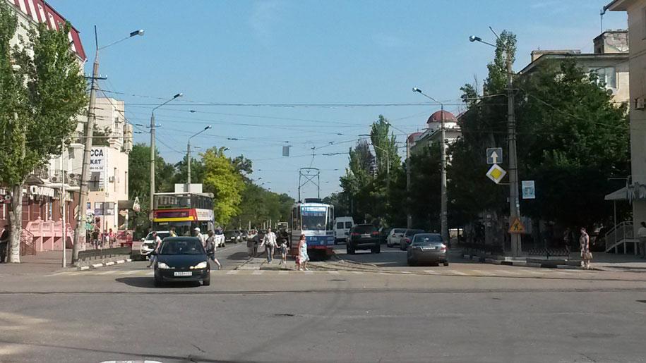 Трамваи Евпатории